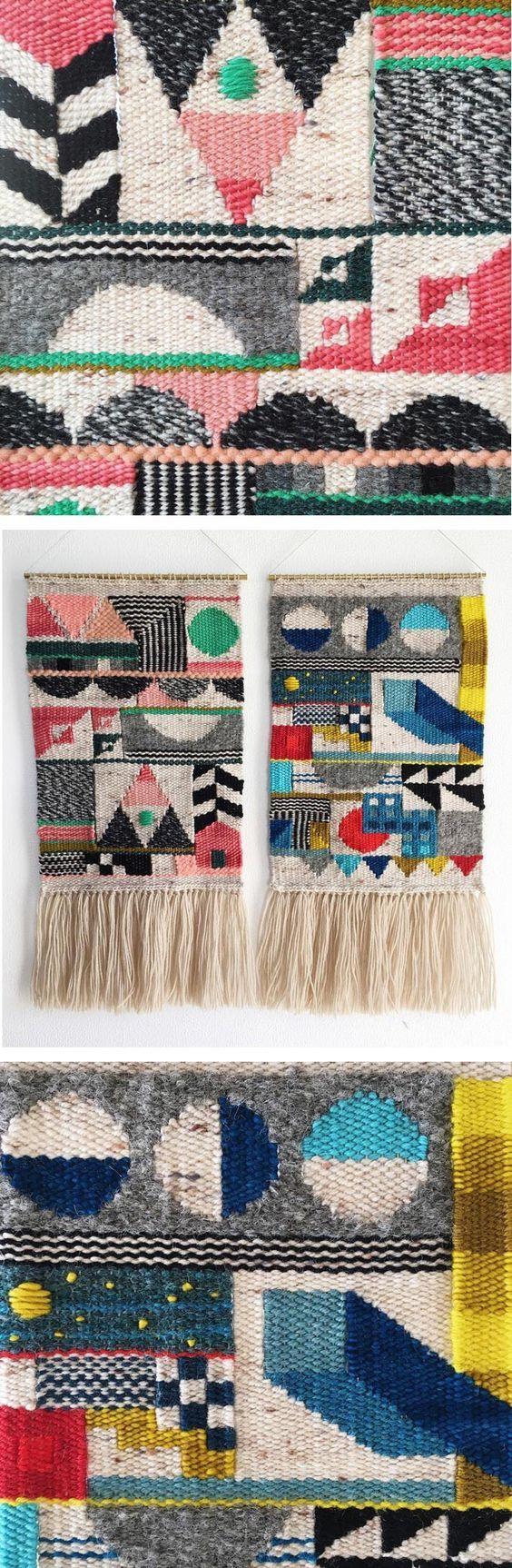 Weaving pattern GOALS!!