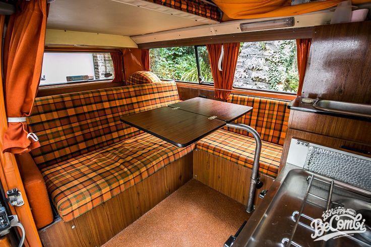 Les 25 meilleures id es concernant int rieur camping car for Interieur combi vw