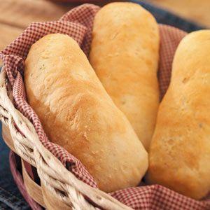 Garlic Hoagie Rolls  Ingredients 1/2 cup water (70° to 80°) 1/2 cup warm 2% milk (70° to 80°) 1 egg, lightly beaten 2 tablespoons sugar 1 tablespoon butter, softened 1 tablespoon minced chives 1/2 teaspoon salt 1/2 teaspoon garlic salt 3-1/4 cups bread flour 3 teaspoons active dry yeast