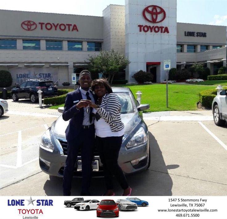 Congratulations Belinda on your #Nissan #Altima from Chris Richardson at Lone Star Toyota of Lewisville!  https://deliverymaxx.com/DealerReviews.aspx?DealerCode=E208  #LoneStarToyotaofLewisville