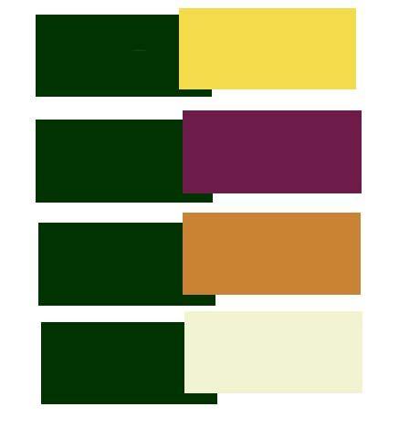 Como combinar el verde oscuro | Pinklia