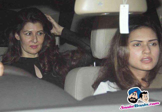 Celebrities Visit Salman Khan -- Sangeeta Bijlani Picture # 325354