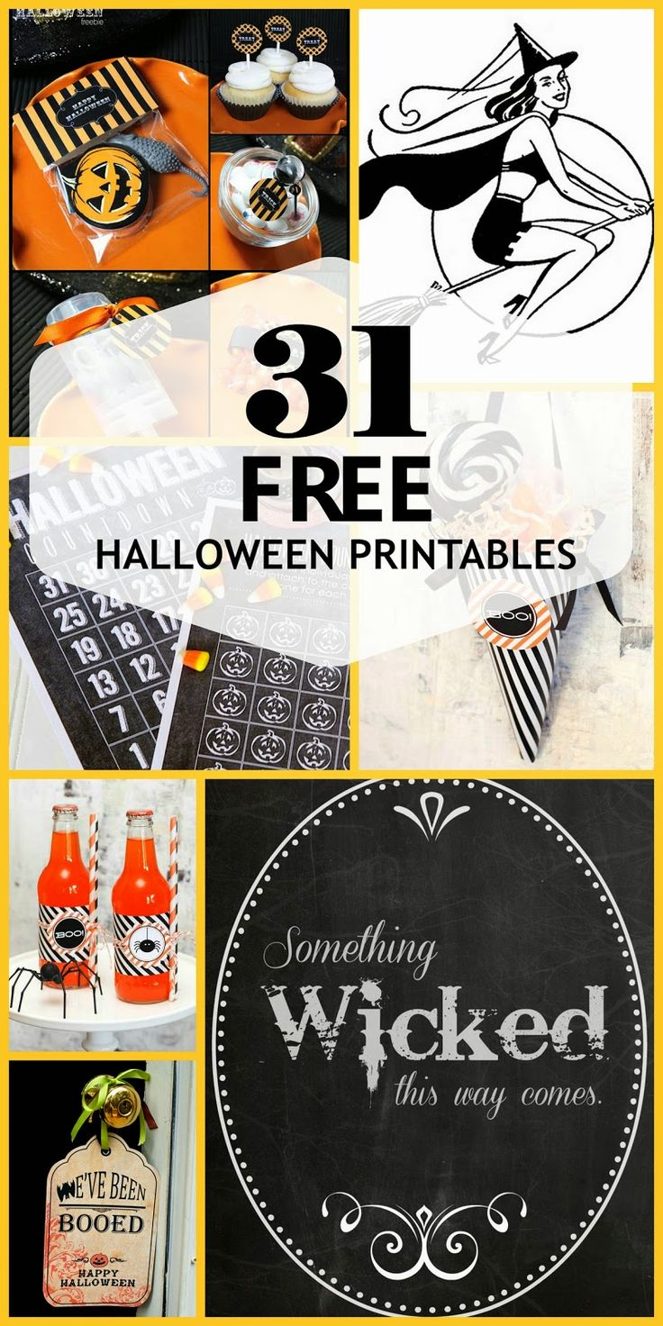last year we brought you a few free halloween decor printables i thought id bring you even more this year