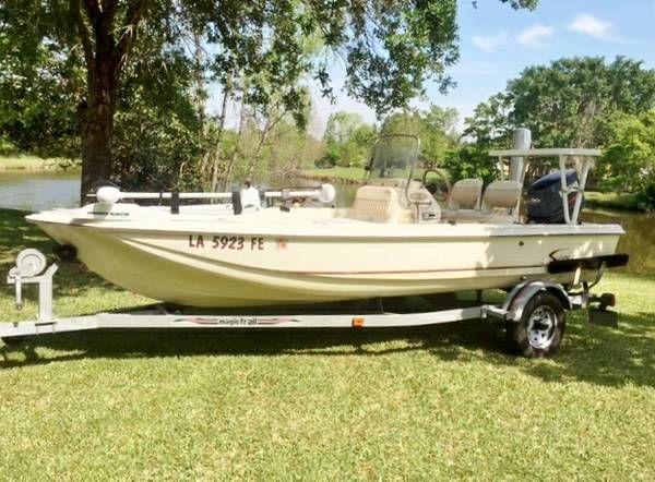 En venta de Ocasión Scout 162 Sportfish del 2001