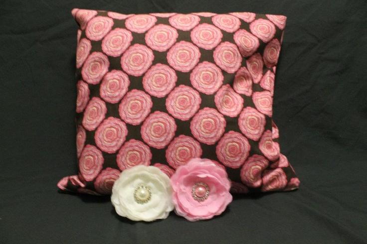 Retro Roses Cushion Cover  http://www.facebook.com/MadeBySarah