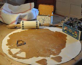 Husmannsplassen i Hidlesundet: Deilig, knasende sprø pepperkaker - glutenfrie!