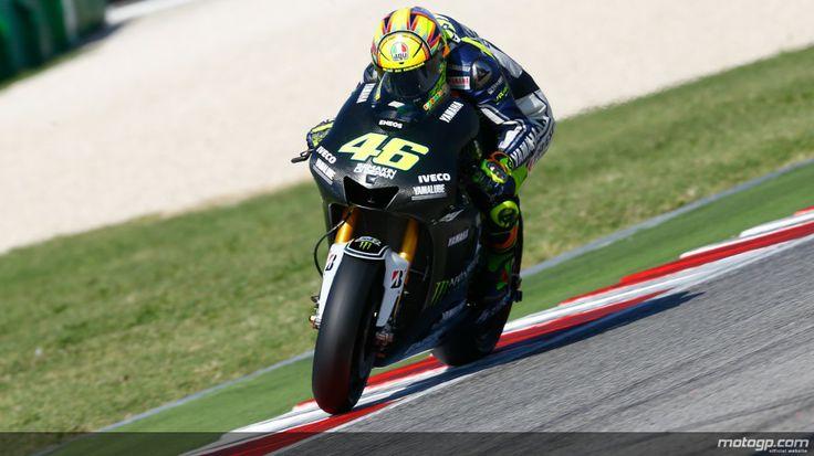 Lorenzo Jatuh, Rossi Juara Dua MotoGP Qatar - Seruu.com - Setelah lama paceklik podium, pebalap kawakan #ValentinoRossi merebut juara kedua di belakang #MarcMarquez dalam #MotoGP sesi perdana 2014 di Sirkuit Losail, Qatar, Minggu (Senin dinihari WIB).
