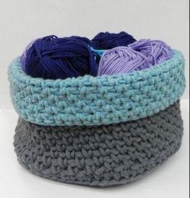 Paniers crochetés - Tricot & crochet - Pure Loisirs