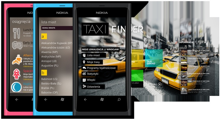 Taxi Finder - new app for Windows Phone