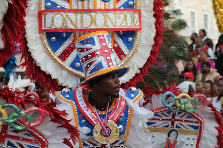 Olympic Games London - The Queen of Hearts - Celebration of Queen Elizabeth's Diamond Anniversary with British Parade in #Nassau #Bahamas #QueenDiamondJubilee #2012 #OlympicsLondon