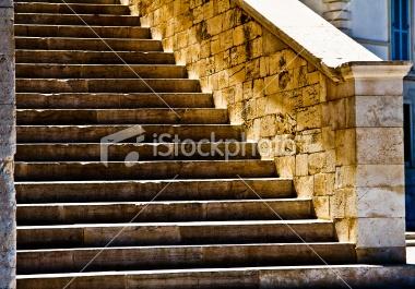 Illuminated stair