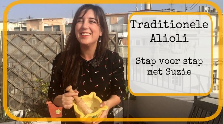 #alioli - #Aioli - #all-i-oli - #ajoaceite - #knoflook mayonaise  Wat is het nou en hoe maak je het?   In deze video laat ik je zien hoe ik #Alioli maakt volgens traditioneel recept in een vijzel.