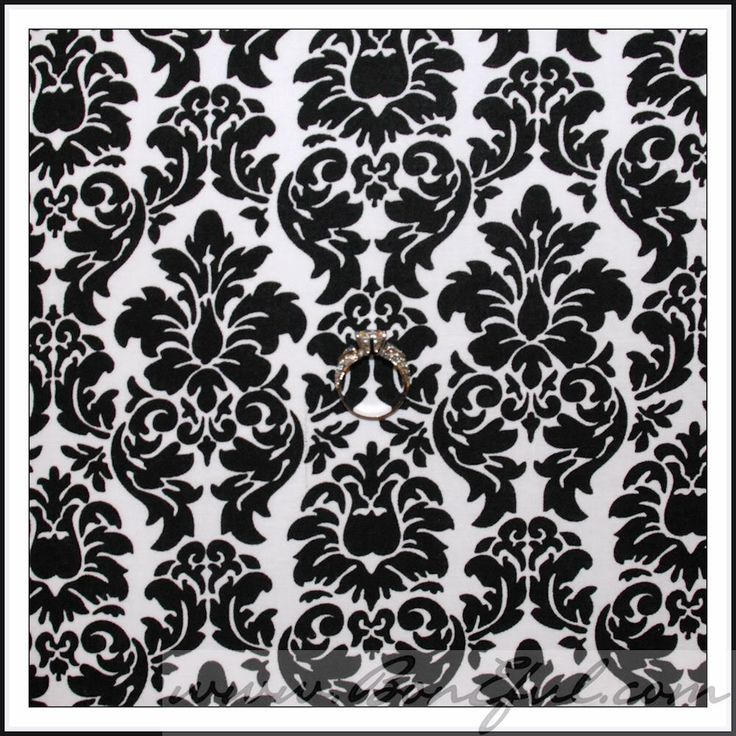 82 best images about black white bedroom ideas on for Black damask bedroom ideas