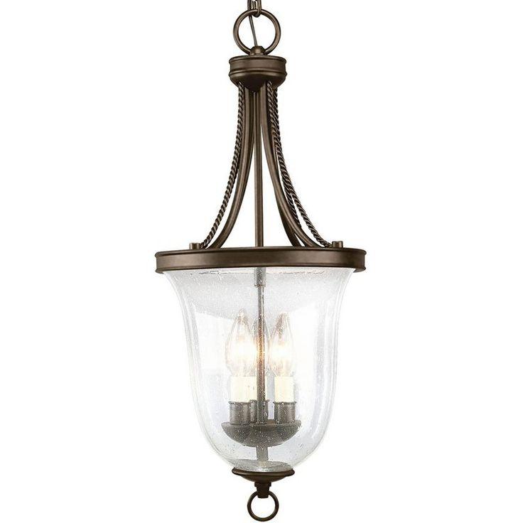 French Country Foyer Lighting : View the progress lighting p light foyer pendant