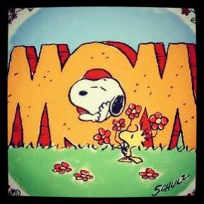 Snoopy.  Mother's Day!