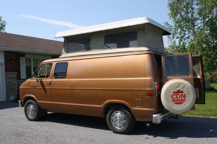 1988 Dodge B150 Travel camper van. 3.9 L. V6 Cyl. auto, cruise. 1750 | motorhome | Pinterest ...