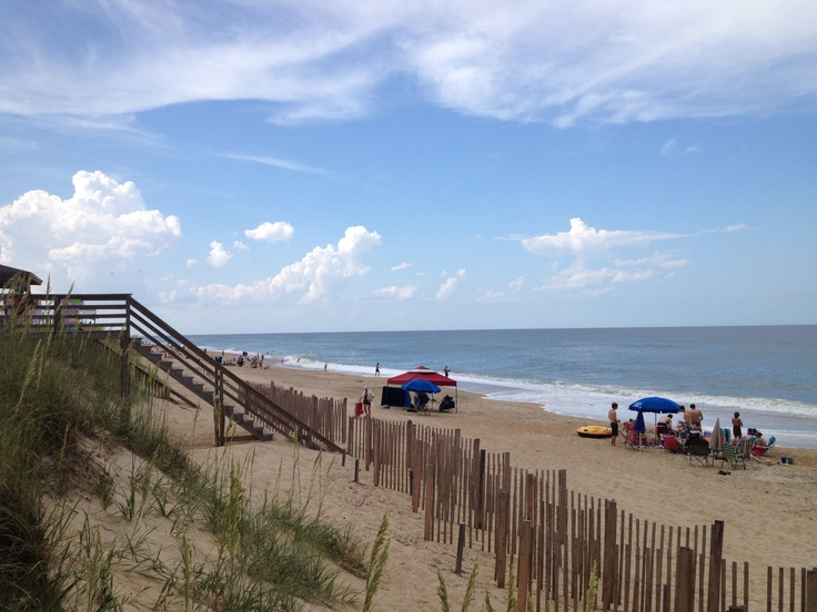 Nags Head Beach- Outerbanks - North Carolina- beautiful OBX