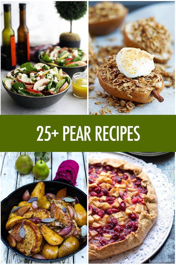 Over 25 Pear Recipe Ideas | Food Bloggers of Canada