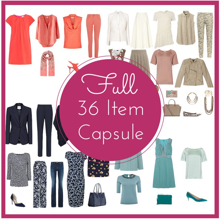 The easy capsule wardrobe option - a done for you wardrobe to suit your colouring, body shape, lifestyle & budget