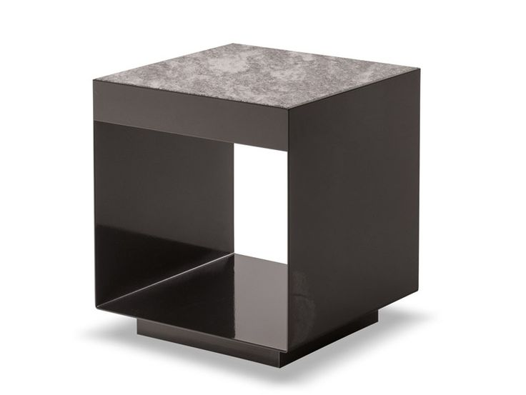 Square Garden Side Table ELLIOT OUTDOOR Elliot Collection