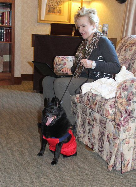 Animal assisted therapy benefits patients