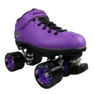 Riedell Dart Quad Skates - Purple