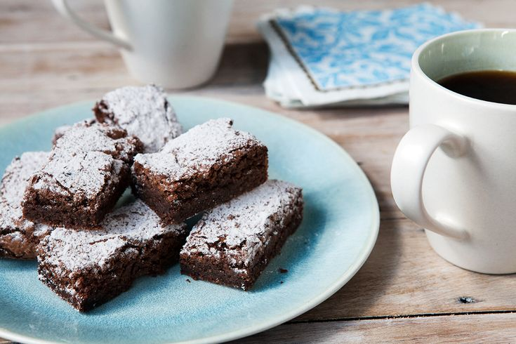 This gluten free brownie is fudgy and divine, just use regular wheat flour for a non GF brownie.