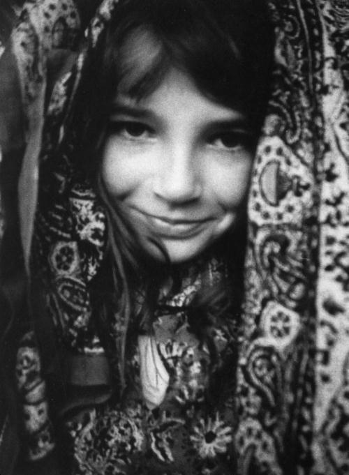 Young Kate Bush (age 8-10?) by John Carder Bush