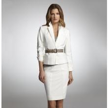 Nice white suit!