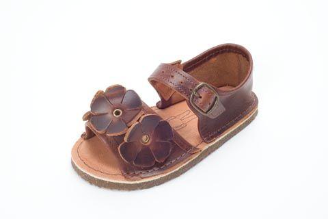 Bear Feet Chestnut Flower Power Sandals $79.50 http://www.meandmyfeet.com/product/BFCHTSFP #Bear #Feet #Chestnut #Brown #Flower #Sandals #Shoes #Kids #Girls