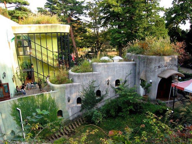 The Studio Ghibli Museum in Tokyo, Japan