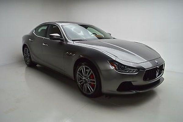 2017 Maserati Ghibli SEDAN 2017 Maserati Ghibli