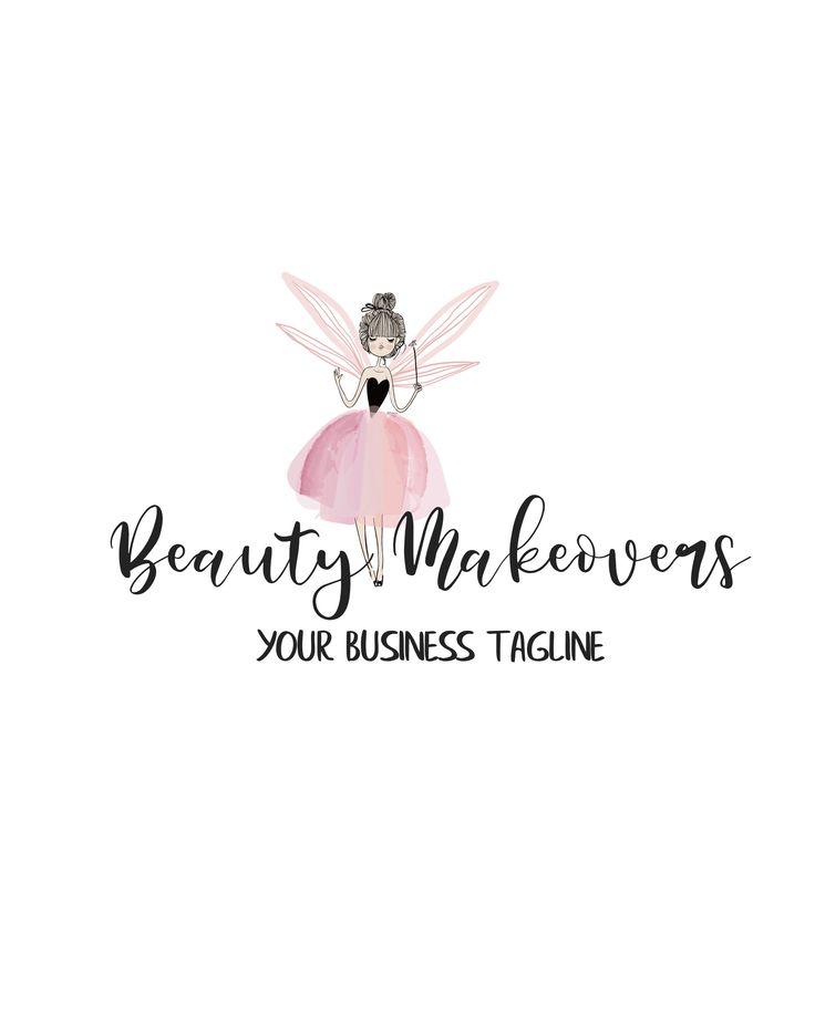 Logo Design, Premade Logo, Makeup Logo, Salon Logos, Wedding Planner Logo, Etsy Shop Logo