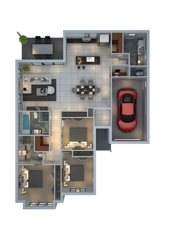 floor plan for a building company - Mudgee NSW