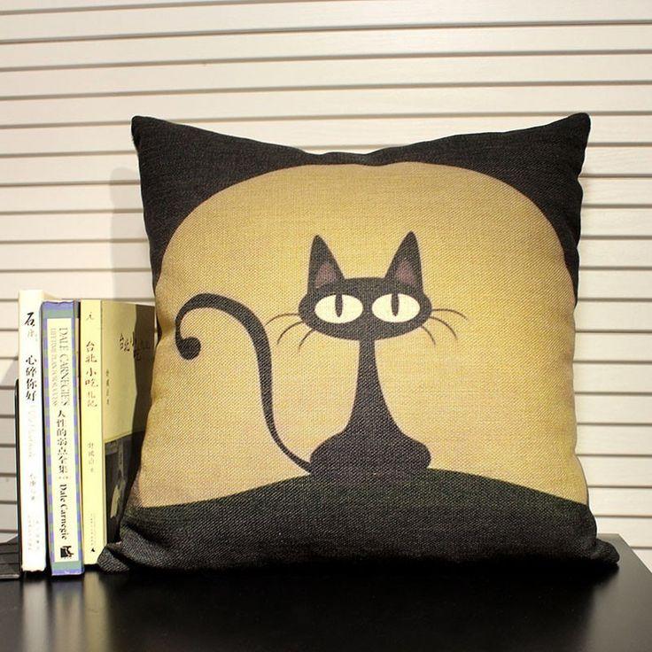 Картинка подушки кошки