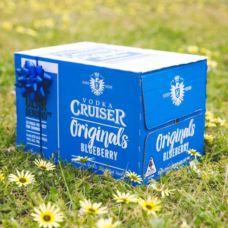 Rượu Vodka Cruiser Very Blueberry 4,6% - Chai 275ml - Rượu Nhập Khẩu TPHCM - douongcaocap.vn