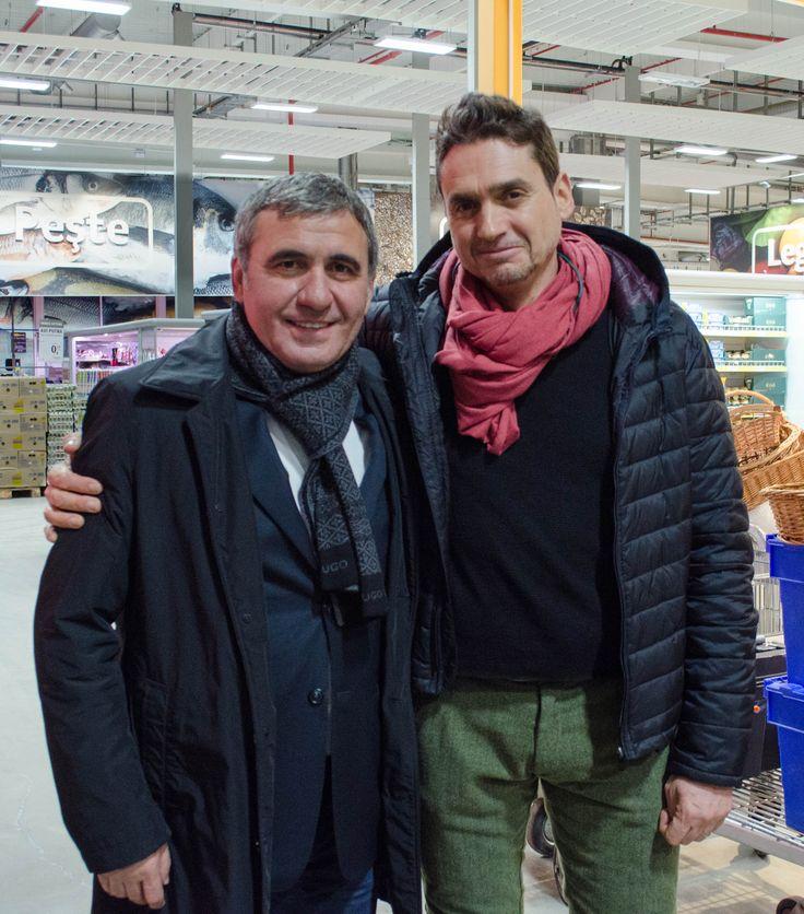 """Foto making-of """"Clubul Selgros - Pentru profesioniști și amatori. De bunătățuri."""" - Lucian Georgescu & Gheorghe Hagi   TVC: http://youtu.be/91K0EB8Kin4  Making-of: http://youtu.be/muQ3yO7IzKM"""