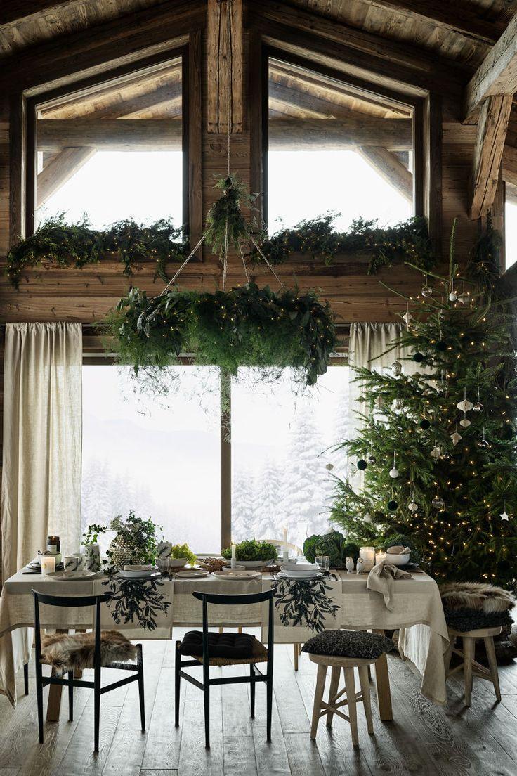 Bedruckter Tischläufer | Naturweiß / Kranz | H & M HOME | H & M DE   – decoration
