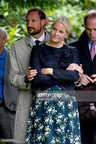 KRISTIANSAND, NORWAY - JUNE 29: Crown Prince Haakon of Norway,... #kristiansand: KRISTIANSAND, NORWAY - JUNE 29: Crown… #kristiansand