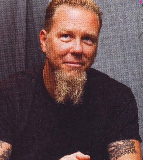 James Hetfield of Metallica - beard