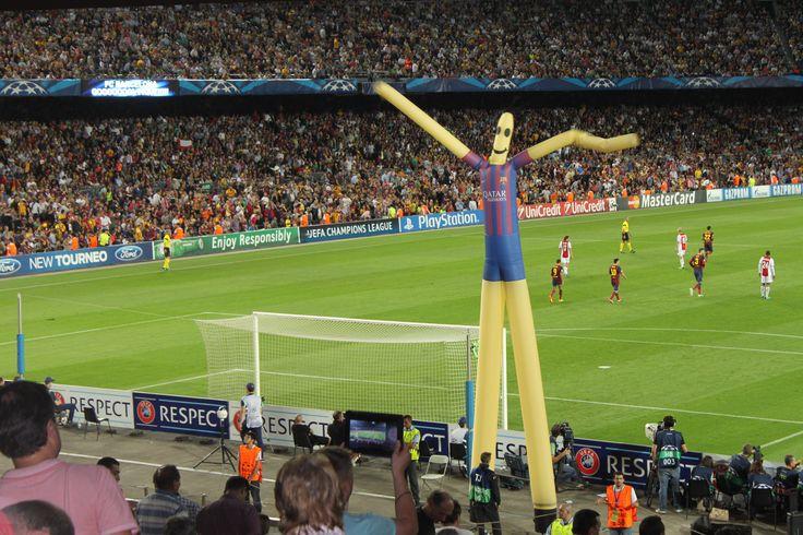 FC Barca vs Ajax - hieno elämys (Barcelona 2013).