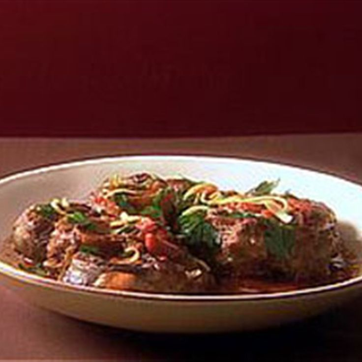 Try this Osso Buco recipe by Chef Giada De Laurentiis. This recipe is from the show Everyday Italian.