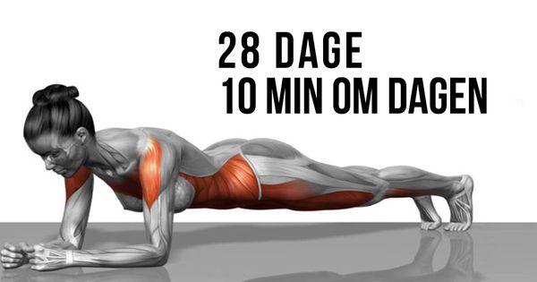 5 enkle øvelser som kan forvandle din krop på bare 4 uger
