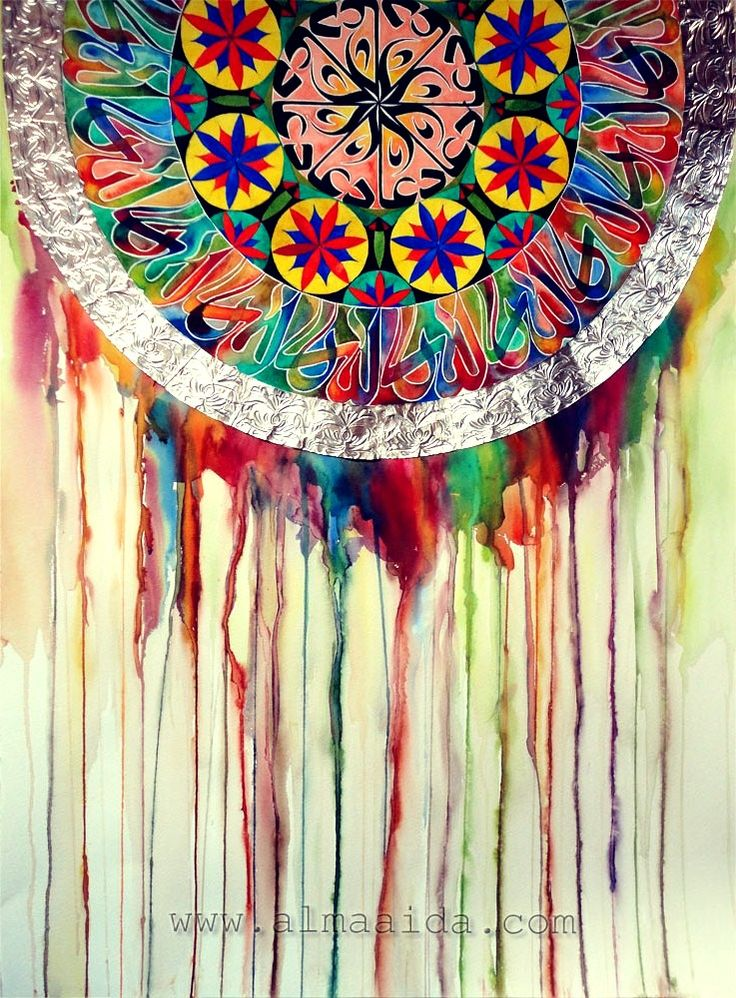 watercolor dreamcatcher: Colour, Ideas, Dream Catchers ...