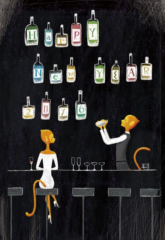 年賀状印刷2016年 夢工房 by 吉田ユウスケ | CREATORS BANK http://creatorsbank.com/ysdyusk/works/282083
