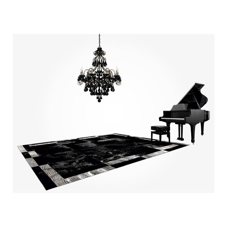 pony skin patchwork cowhide rug k-1878 nero  double frame silver ORDER HERE: http://www.furhome.gr/shop/en/patchwork-cowhide-rug-k1878-285.html