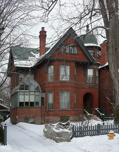 South Dr, Toronto, Canada; Rosedale District; built 1888.