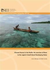 Climate finance in the Pacific: An overview of flows to the region's Small Island Developing States