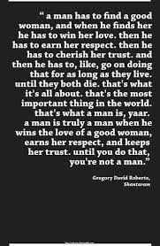 Image result for gregory david roberts quotes