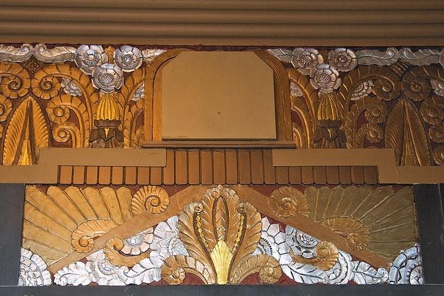 Chateau Theatre, Interior    Montreal Art Deco Congress